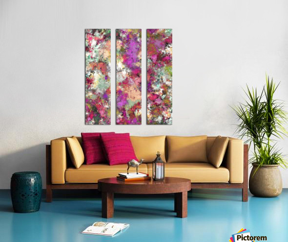 Debris Split Canvas print