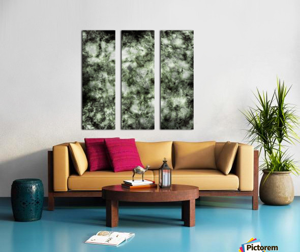 Demolisher Split Canvas print