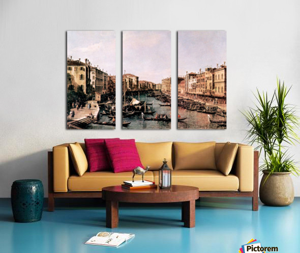 Grand Canal -2- by Canaletto Split Canvas print