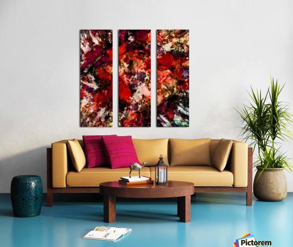 Impulse 3 Split Canvas print