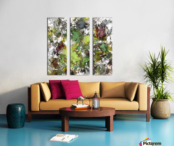 Invisible surface Split Canvas print