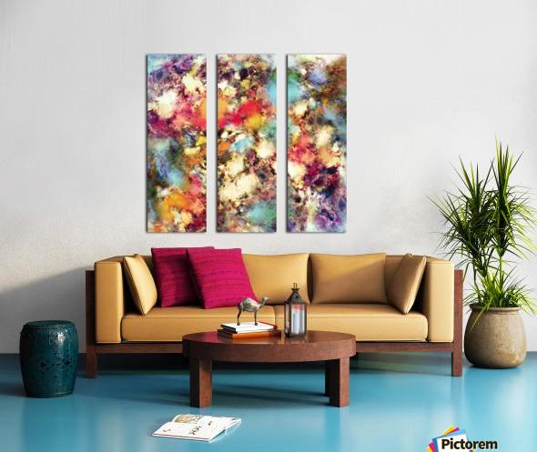 Juggernaut Split Canvas print