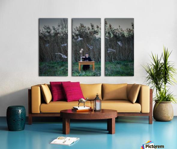 Deperson Split Canvas print