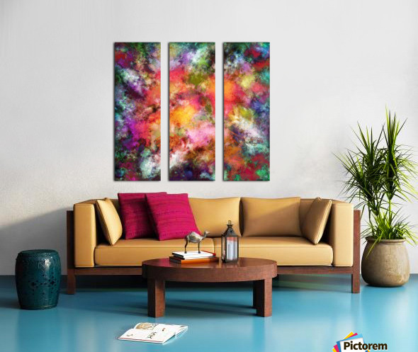 Lovely flowers Split Canvas print