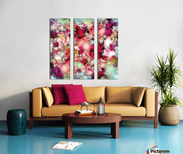 Mirage Split Canvas print