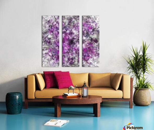 Meditator Split Canvas print
