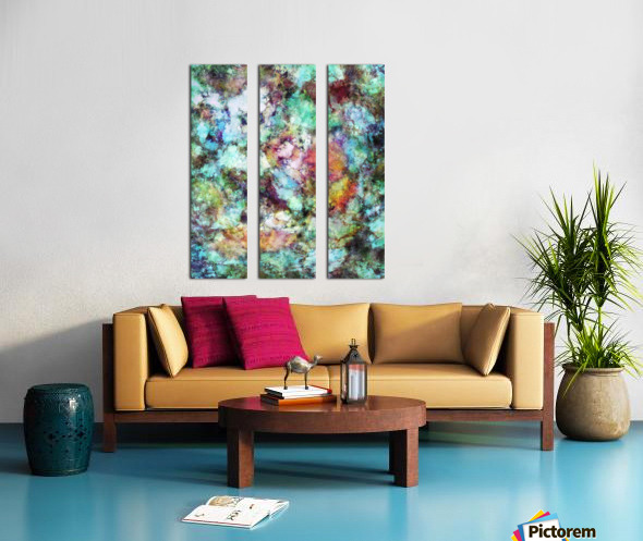 Mixed emotions Split Canvas print