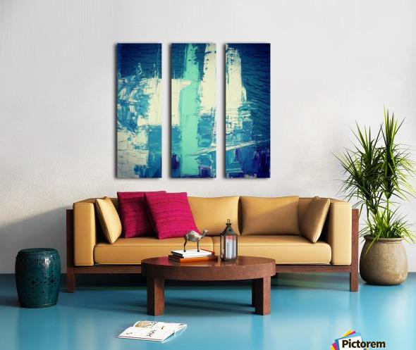 atlantis eternal Split Canvas print