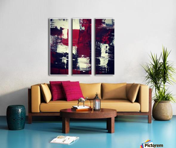 reinventing cassiopeia Split Canvas print