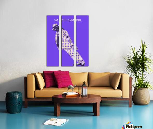 michael jackson_Smooth Criminal Split Canvas print