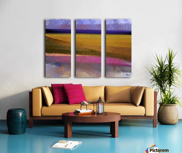 0319 Split Canvas print