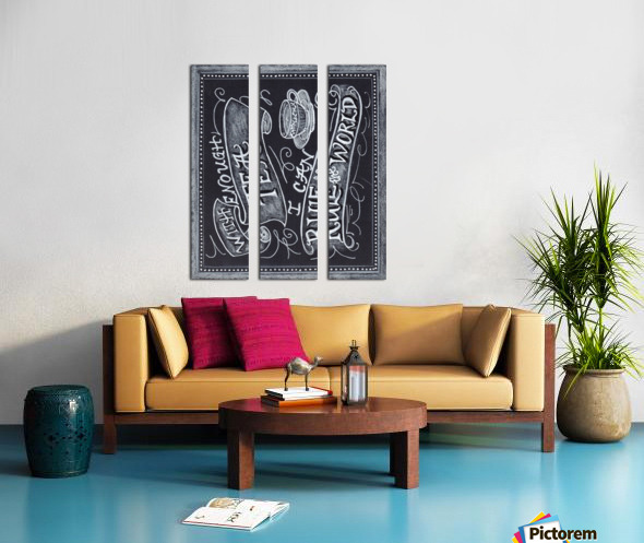 teascan2 Split Canvas print