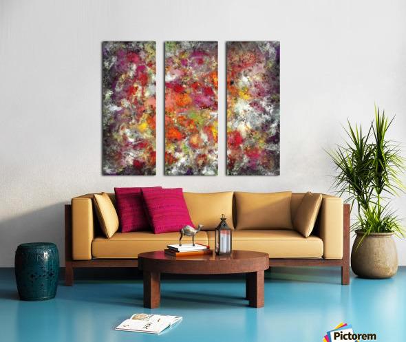 Outbreak Split Canvas print