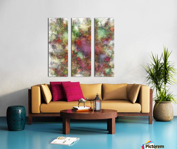 Outcrop Split Canvas print