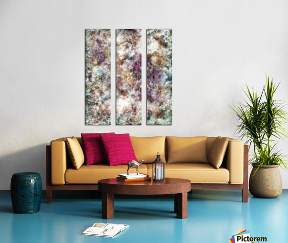 Quietly being a ghost Split Canvas print