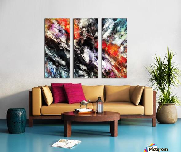 Rattle Split Canvas print
