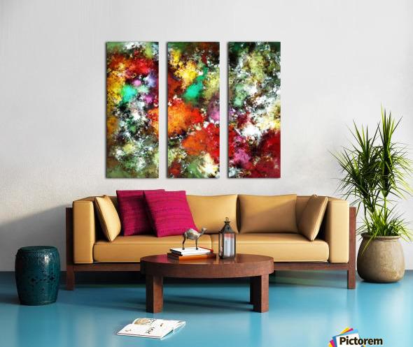 Ramble Split Canvas print