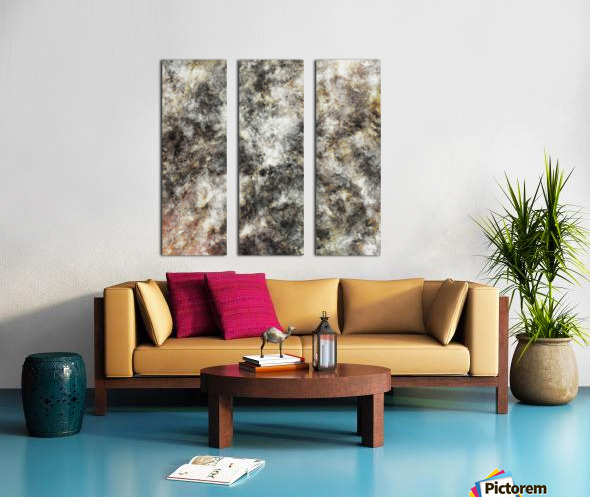 Residue Split Canvas print