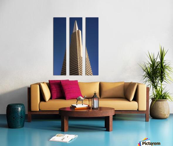 Transamerican Pyramid Split Canvas print