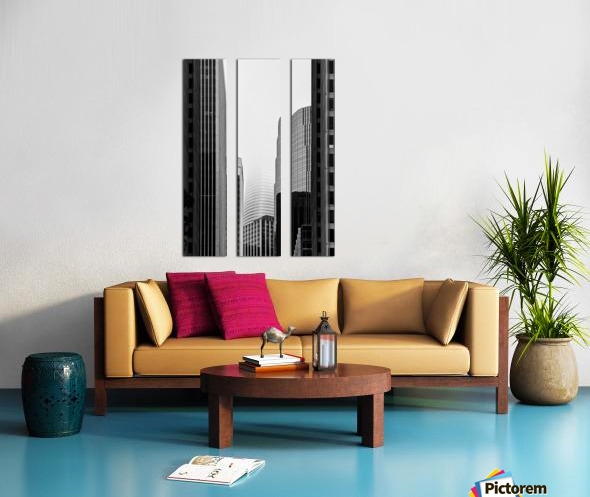 Vanishing Tower Split Canvas print