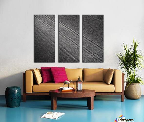 The Road Split Canvas print
