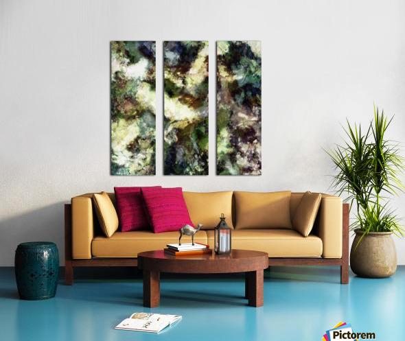 Silent erosion Split Canvas print