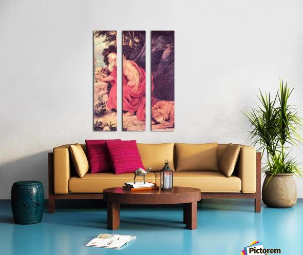 Hieronymus by Rubens Split Canvas print