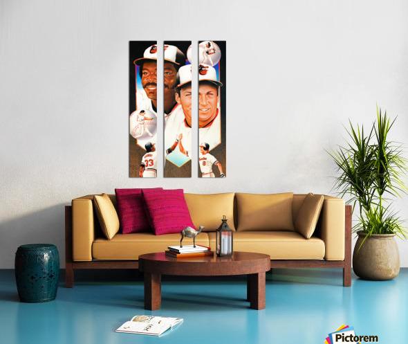 baltimore orioles cal ripken jr art Split Canvas print