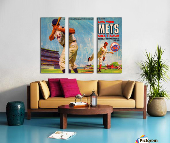 1969 New York Mets Split Canvas print