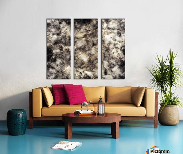 Smoke and mirrors Split Canvas print