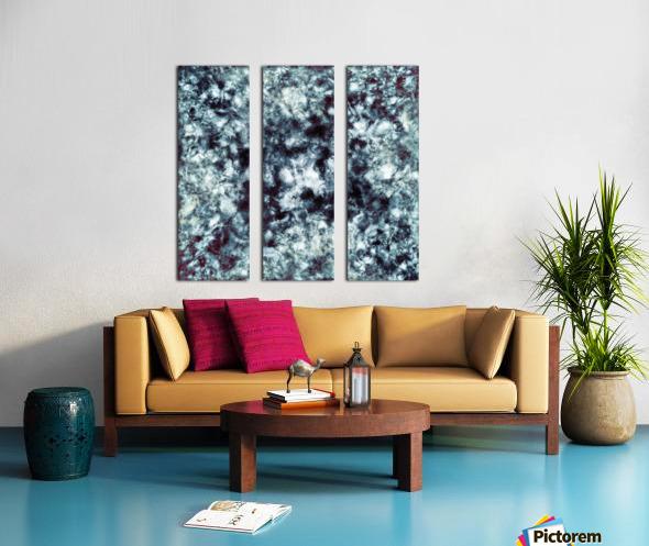 Smokescreen Split Canvas print