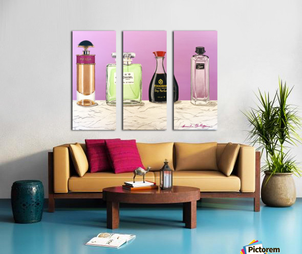 Soy Parfum Split Canvas print