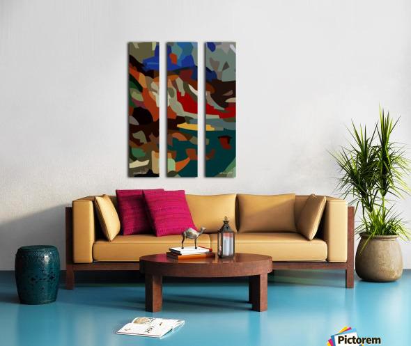 paradolic vista Split Canvas print