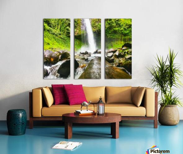 La Fortuna Waterfall  Split Canvas print