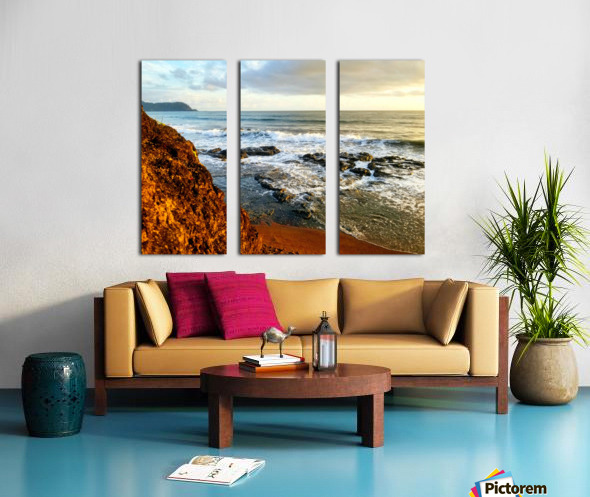 Jaco Beach Split Canvas print