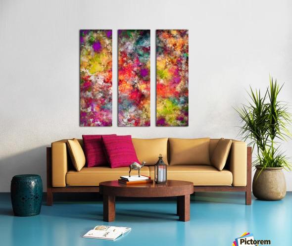 Tangle Split Canvas print