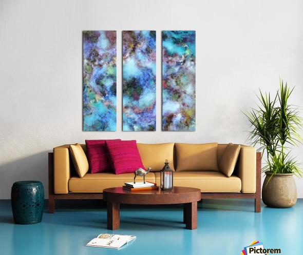 Tangled air Split Canvas print