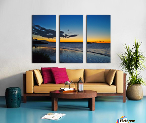 Sunrise Full Frame Split Canvas print