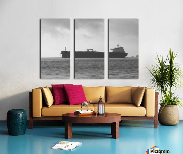 Tanker Split Canvas print