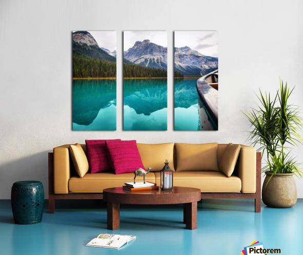 British Columbia Split Canvas print