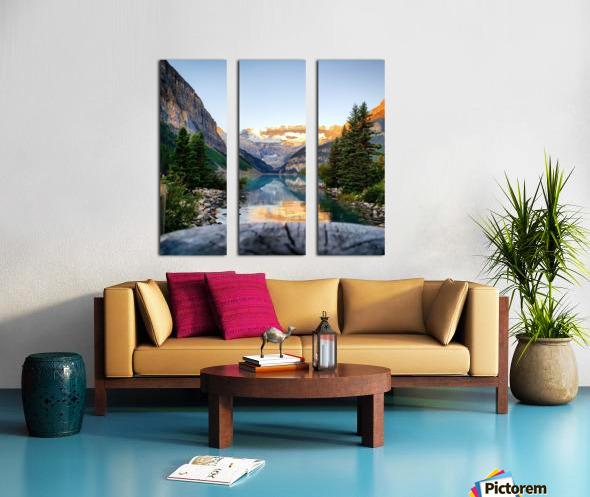 Lake Louise  Split Canvas print