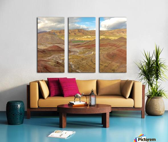 Nature is best artist Split Canvas print