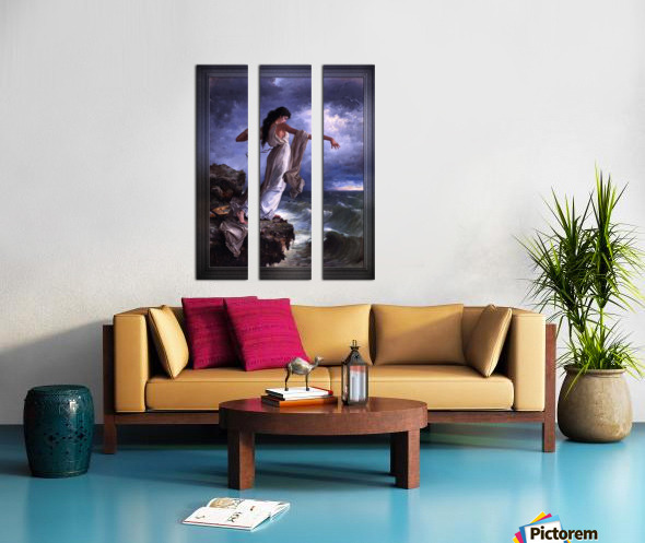 Death of Sappho by Miguel Carbonell Selva Split Canvas print