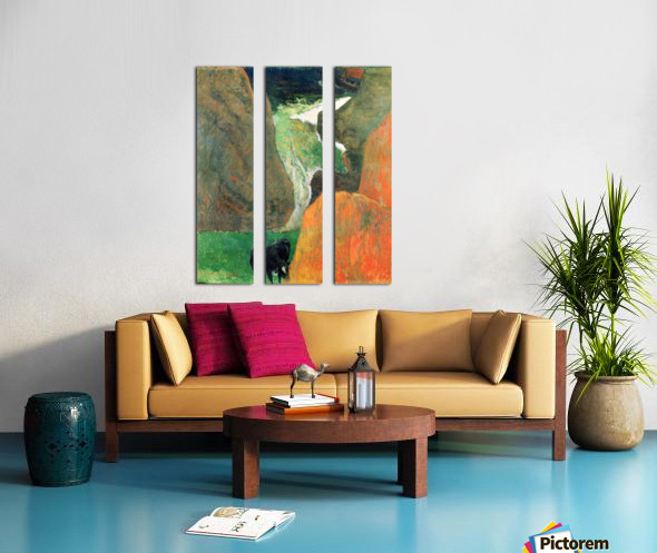 Hover Above the Abyss by Gauguin Split Canvas print