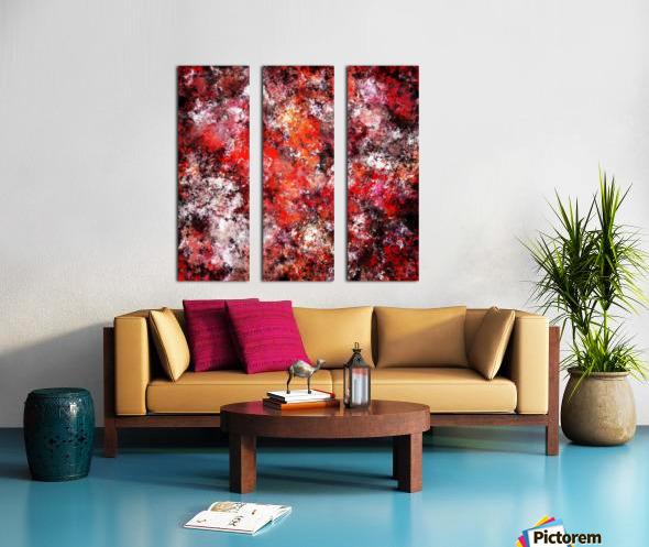 The red sea foam Split Canvas print