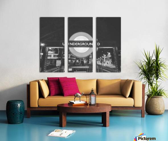 London Split Canvas print