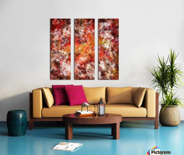 Hard wiring Split Canvas print