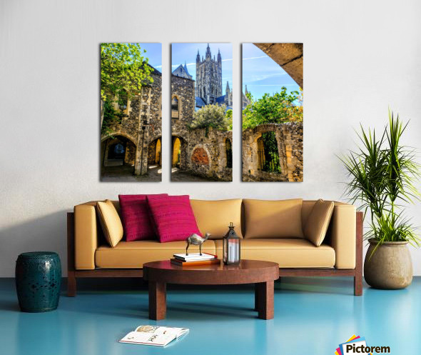 Canterbury Cathedral  Split Canvas print