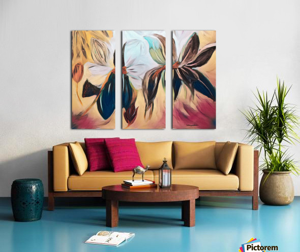 Magnolias  Split Canvas print