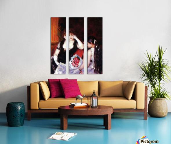 In the Loge by Renoir Split Canvas print